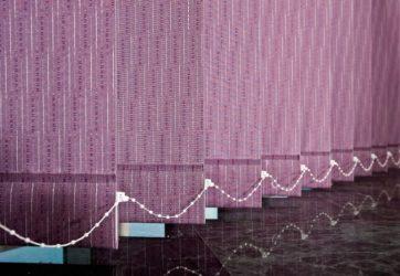 Persiana de lama vertical